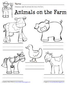 Farm Acitivity FREEBIE! - Kinder Craze: A Kindergarten Teaching Blog