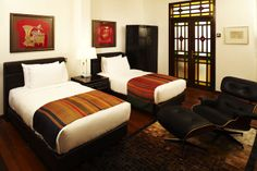 Hotel Penaga, Georgetown, Penang - luxury heritage boutique hotel in the heart of Georgetown - Hutton Rooms