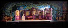 Set Designer: Set designer Christine Peters shown Thursday, June 2011 inside the Broadway Palm's Broadway musical Cinderella. [Tim Hacker, Tribune] - Photo by Tim Hacker Stage Set Design, Set Design Theatre, Design Set, Cinderella Broadway, Concept Draw, Dragon Tales, Scenic Design, Fairy Godmother, Design Inspiration