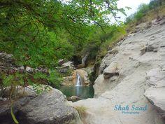 Kanhatti Garden waterfall, Soon Valley #Pakistan #nature