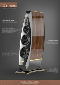 System features   The loudspeaker cabinets are constructed out of 5-axis CNC-m...