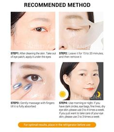What is korean skin care routine? Why is korean skin care so popular? Korean beauty is a bit more than merely ten steps and sheet face masks. Dark Circles Treatment, Eye Treatment, Skin Care Treatments, Dark Circles Makeup, Dark Circles Under Eyes, Eye Circles, Gold Eye Mask, Gold Eyes, Eye Masks