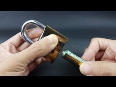 How to open a padlock easy | LabsJack - YouTube