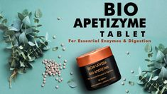 BIO APETIZYME TABLET: For Essential Enzymes & Digestion that is formulated to empower digestion by natural enzymatic action. It supports proper digestion as . Ayurveda, Herbalism, Essentials, Healing, Personal Care, Youtube, Self Care, Personal Hygiene, Therapy