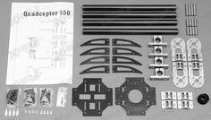 Dynam RC 6 Channel Quadcopter 550 Kit