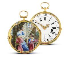 14k Gold Swiss Quarter Repeater 51mm Large Hunter Case Pocket Watch Pocket Watches Competent Vintage
