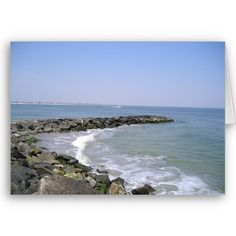 Create your own unique greeting on a Seascape card from Zazzle. From birthday, thank you, or funny cards, discover endless possibilities for the perfect card! Avalon Beach, Vacation Spots, New Jersey, Beautiful Beaches, Summer Time, Memories, Water, Cards, Outdoor