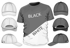 free vector Shortsleeve tshirt template 04 vector