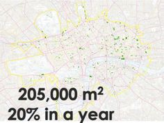 How London could become the green capital of the world Green Roof Benefits, Urban Heat Island, Living Roofs, Green Roofs, Air Pollution, Health And Wellbeing, Urban Design, Climate Change, Rooftop