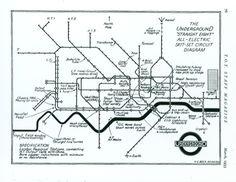 H C Becks spoof map diagram