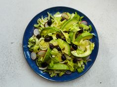 Marinated Celery and Avocado Salad
