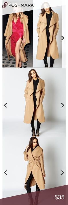 Camel Trench Jacket This fashionable thin trench style jacket is PERFECT for fall !!! Reserve today ladies 🌸🌸! Price will be $35, however a discount will be applied to purchases of two or more ! Comment below to be notified once in stock ! Jackets & Coats Trench Coats