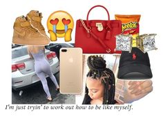 """"""""""" by liltrinnvert ❤ liked on Polyvore featuring NIKE, Michael Kors and Spyder"""