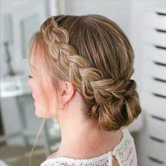 Box Braids Hairstyles, Haircuts For Wavy Hair, Haircut For Thick Hair, Braided Hairstyles Tutorials, Cool Hairstyles, Braid Tutorials, Beautiful Hairstyles, Hairstyle Ideas, Braided Prom Hair