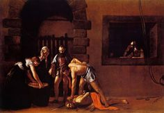 Beheading of St. John the Baptist - Michelangelo Merisi of Caravaggio