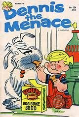 Dennis the Menace comic strip -