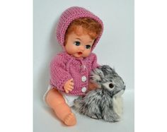 images of betsy wetsy   Knitting: Little Betsy Wetsy Bonnet & Sweater