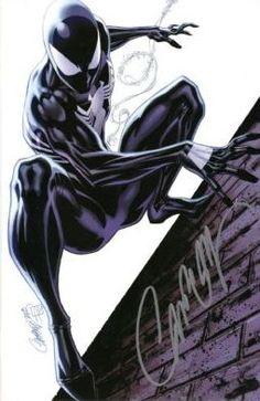 Amazing Spider-man J. Marvel Comics, Marvel Art, Marvel Heroes, Marvel Characters, Spiderman Black Suit, Spiderman Art, Amazing Spiderman, Spiderman Symbiote, Spiderman Tattoo