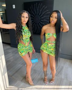 Dressy Outfits, Night Outfits, Summer Outfits, Girl Outfits, Cute Outfits, Fashion Outfits, Matching Outfits Best Friend, Best Friend Outfits, Pretty Black Girls