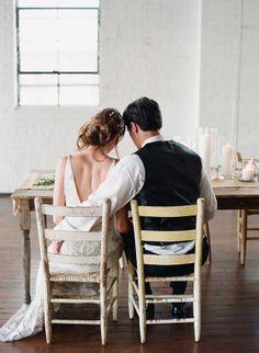 hair // Claire Pettibone & Atlanta Wedding Inspiration
