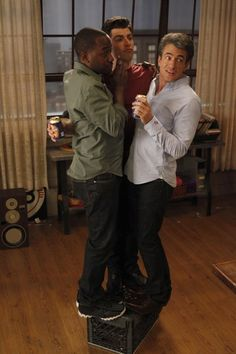 """Dermot Mulroney as Russell from the """"Normal"""" episode of NEW GIRL on FOX."""