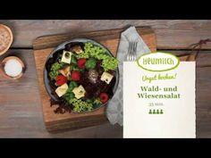 Wald- und Wiesensalat mit Heumilchkäse Buffet, Brunch, Tacos, Mexican, Ethnic Recipes, Eat Lunch, Dinners, Hay, Milk