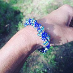 Chętnie udostępniam najnowszy produkt dodany do mojego sklepu #etsy: Cellini Beaded, boho, bracelet, Spiral Rope bra,Boho jewerlly gifts for her, Peyote, Teal bracelet, Hand made jewelry, Bead weaving, #jewelry #bracelet #kobiety #jewellery #bracelets #giftideas #bohojewerlly #handmadejewerlly #cellinibracelet #cellini #cellinijewellry https://etsy.me/2LAbQNX