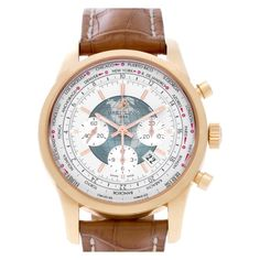 What is a World Timer watch: Breitling Transocean Chronograph RB0510
