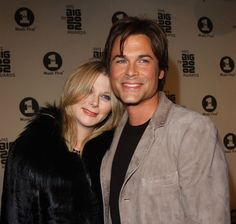 Rob Lowe and Sheryl Berkoff- married 21 years