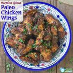 Harrissa Spiced Recipe for Buffalo Wings (Paleo, low carb, gluten free, dairy free)