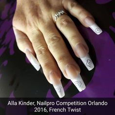 Perfect French Twist by Alla Kinder! Eastern Europe, Competition, French, Nails, Instagram Posts, Finger Nails, French People, Ongles, Nail