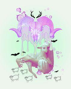 I. Aries (Graphic Design) by Carla Izumi Bamford http://carla-izumi-bamford.com/i-aries/