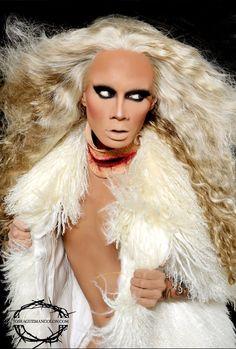 Raja Gemini - Ru Paul's Drag Race Winner (season 2?)  Loves me some fierce Drag Queens!