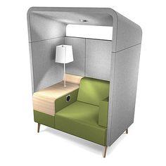 Bas ou élevés une, deux ou trois endroits arrières de repos, consoles ou cabines : avec le RENDEZ-VOUS, un produit entier a été développé pour soutenir une nouvelle manière du travail. Avec ses sièges particulièrement bien-jaillis et murs capitonnés...