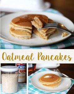 Oatmeal pancakes by Smitten Kitchen | Recipes | Pinterest ...