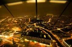 Eyewitness: Berlin at night.
