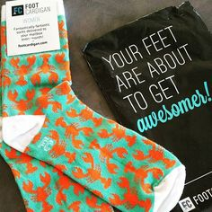 Foot Cardigan: Fantastically fantastic sock subscription delivered to your mailbox every month!
