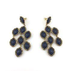 Gold Tone Earrings (005311)