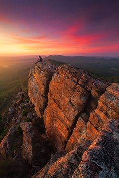 """wowtastic-nature: """"💙 Bloody Mary by Dylan Gehlken on ○ Canon EOS Mark ☀ """"St Mary Peak, Flinders Ranges, South Australia. Taking a break from my. Places To Travel, Places To See, Places Around The World, Around The Worlds, Beautiful World, Beautiful Places, Amazing Places, Great Barrier Reef, Australia Travel"""
