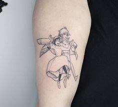 Image may contain: 1 person Mini Tattoos, Body Art Tattoos, Small Tattoos, Sleeve Tattoos, Howl's Moving Castle Tattoo, Moving On Tattoos, Tatuaje Studio Ghibli, Studio Ghibli Tattoo, Pretty Tattoos