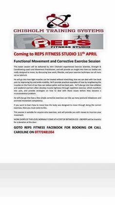Functional Movement Seminar @ REPS Fitness Studio (Coatbridge)