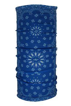 Proper Paisley Blue | Hoo Rag hoorag.com