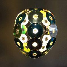 DIY: Old CDs transformed into CDegg pendant by Gilbert de Rooij
