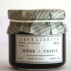 [Envelope Online Shop]mulberry and black currant confiture