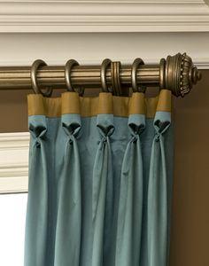 Window Treatments designs by Decorating Den Interiors. TheLandryTeam.DecoratingDen.com