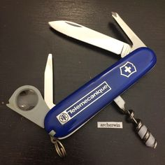 archerwin's Swiss Army Knives: COLLECTION: Victorinox Engineer 91mm (1980s)
