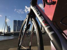 Red Bull bike. Rotterdam, The Netherlands