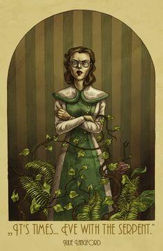 Julie Langford by ~MadLittleClown on deviantART