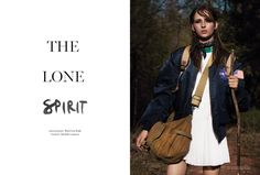 visual optimism; fashion editorials, shows, campaigns & more!: the lone spirit: waleska gorczevski by ward ivan rafik for russh june / july 2015