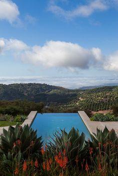 Toro Canyon House, Santa Barbara, 2012 #landscape #pool